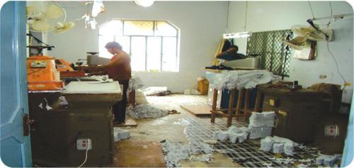 Press Cutting Hall